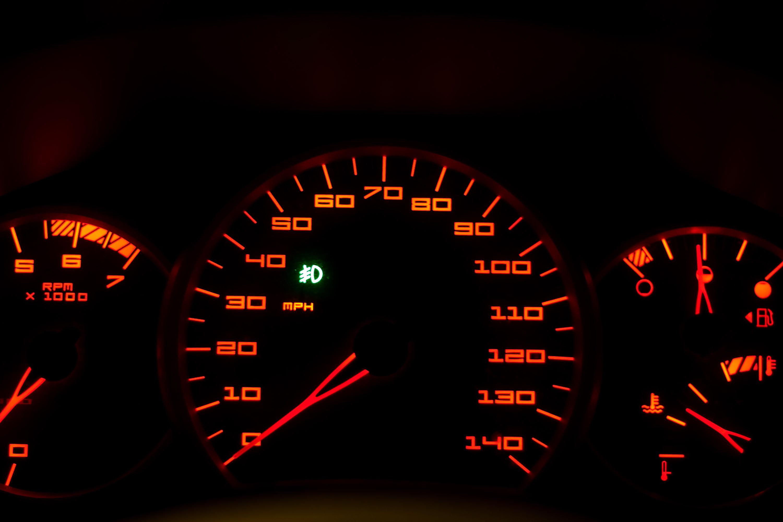A Closeup of a Modern Car Interior Dashboard